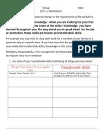 QETI LO1.3.4 Worksheet