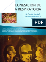 Colonizacion de Mucosa Respiratoria