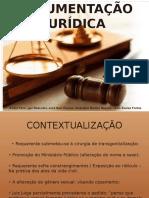 ARGUMENTACAO JURÍDICA
