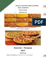 Proyecto de La Pizza