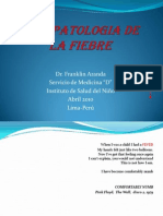 Fisiopatología de la fiebre