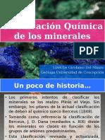 2) Clasificación Química de Los Minerales(1)