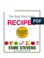 The Best Raw Food Recipes - Esme Stevens