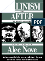 Stalinism and After the Road to Gorbachev