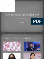 Rural Marketing- Unit 4