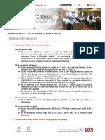 Boletín informativo de emergencia N° 79