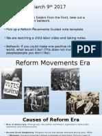 reform movements added pics