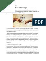 Curso Psicologia Clinica
