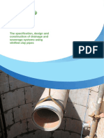 CPDA the Specification Design and Construction of Drainage and Sewerage Systems Using Vitrified Clay Pipes