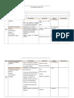 Formato planificación mensual