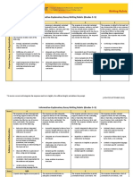 azmerit writing rubric - inf exp
