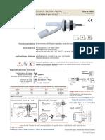 Catálogo Sensores de Nivel