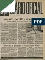 Diário oficial da CLDF