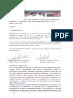 Carta de Presentación Del Diplomado en Calificación de La Pclo. Nuevo Manual de Calificación. Decreto 1507 Del 2014