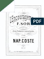 sor, fernando- l' encouragement, op. 34 (arreglo de coste)- 2 guitarra_unlocked.pdf