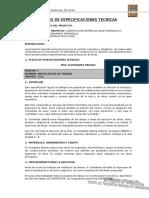 0.9 Pliego de Especificaciones Tecnicas Purunquila II