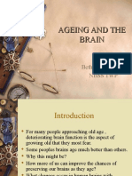 5. Ageing and the Brain by Dr Bethy (8 November 2012)