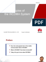 Principles of the Wcdma System