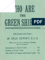 Green Shirt National Movement for Social Credit