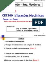Aula0-Vibracoes Mecanicas