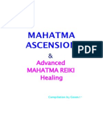 Mahatma Ascension Reiki Manual