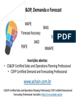 MAPE, BIAS, Forecast Accuracy _ Participe dos Workshops CS&OP e CDFP (Demanda e Forecast)