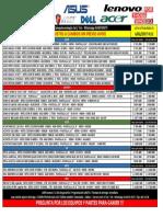 Lista Portatiles Computecnologia