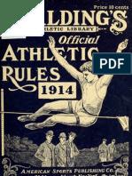 (1914) Handbook of the Amateur Athletic Union