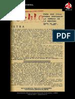 El Pueblo N° 5 - Enero 1957
