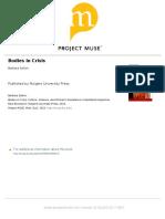 Bodies in Crisis