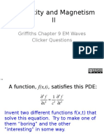 04 - Electromagnetic Waves (Griffiths.Ch9).pptx