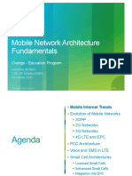 Mobile Network Architecture Fundamentals
