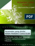 Ped Coma Scale, Lingkar Kepala, Refleks Primitif NA