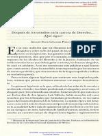 DESPUÉS DE LOS ESTUDIOS EN LA CARRERA DE DERECHO QUÉ SIGUE Pimentel, Genaro David.pdf