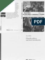 D. Miller - Filosofia Politica. Una breve introducción.pdf