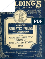(1918) Handbook of the Amateur Athletic Union