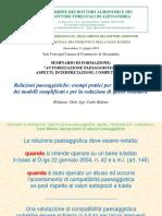 08 Bidone - Relazioni Paesaggistiche Esempi Pratici Per La Compilazione Dei Modelli Semplificati e Per La Redazione Di Quelle Ordinarie