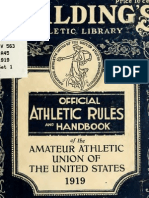 (1919) Handbook of the Amateur Athletic Union