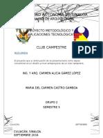 Proyecto de Investigacion CAMPESTRE