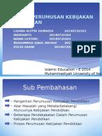 proses perumusan kebijakan pendidikan.pptx