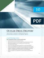Ocular Drug Delivery