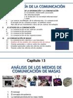 13- Analísis de Los Medios de Comunicación de Masas