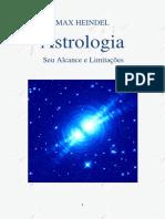 Astrologia (Alcance e Limitacoes) - Max Heindel