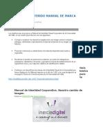 Contenido - Manual de Marca o Identidad Corporativa