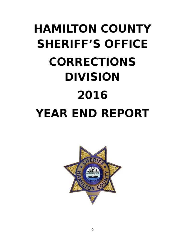 Hamilton County jail reports 2016 | Solitary Confinement