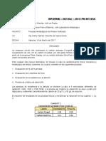Informe - 003 Mar-2017 - Pruebas Metalúrgicas y Fisicas Carbones Picagold y GoldPlus