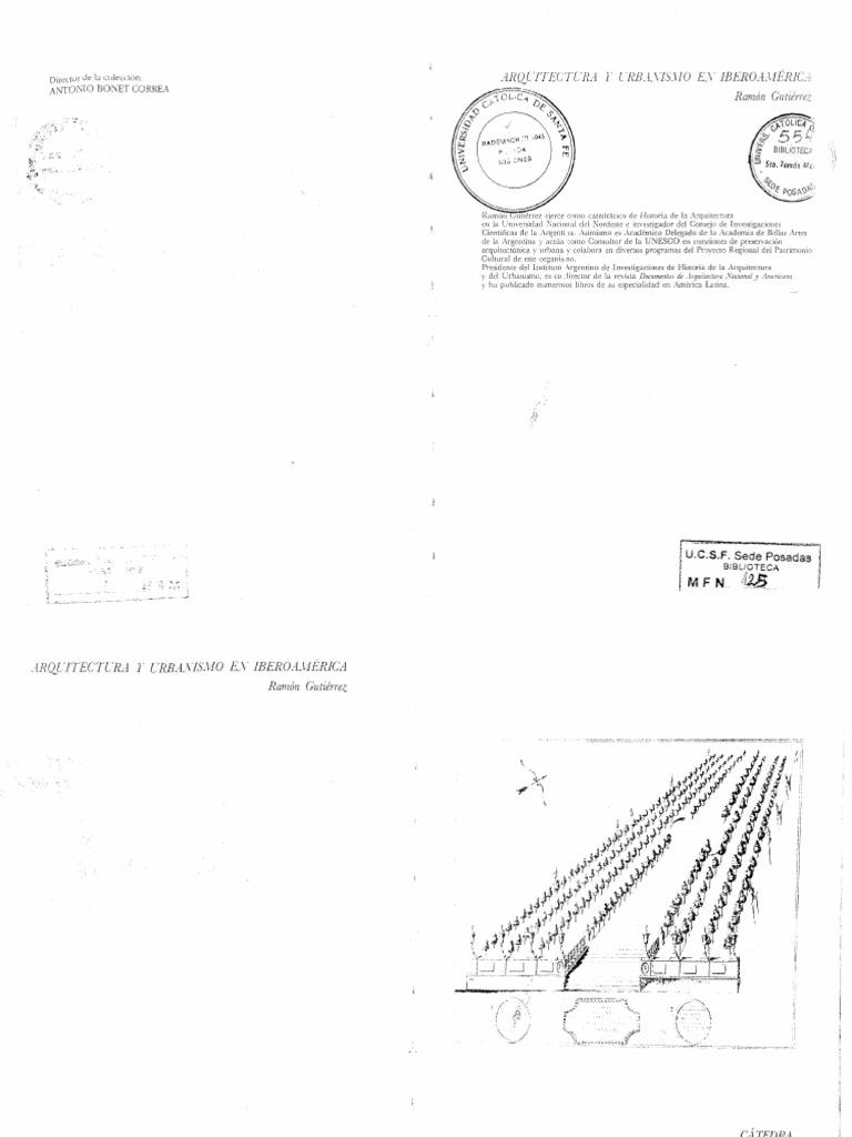 Ramón Gutierrez - Historia de la arquitectura y el urbanismo en Iberoamérica c2e029d7427