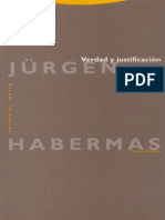 Verdad y Justificacion - Jurgen Habermas