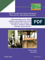 MethodologiaTabla Conversión Para El Cálculo Volúmenes de Madera Aserrada-caoba