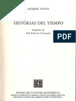 6.- ATTALI- HISTORIAS DEL TIEMPO- Cap I y II-.pdf